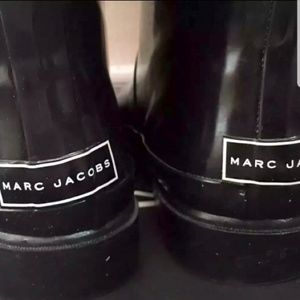 Marc Jacobs Black Rain Boots